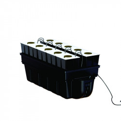 Système aéroponique - AeroStar 10 pots 90 x 40 cm - Platinium Aeroponics