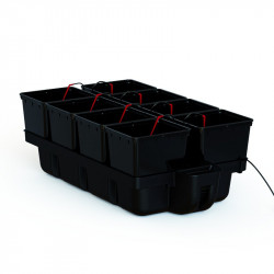Système hydroponique - HydroPro 8 pots 110 x 60 x 38,5 cm - Platinium Hydroponics