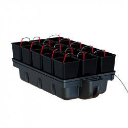 Système hydroponique - HydroStar 15 pots 110 x 60 x 39 cm - Platinium Hydroponics