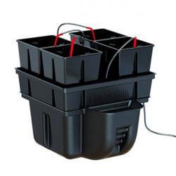 Système hydroponique - HydroStar 40 4 pots 40 x 40 x 32 cm - Platinium Hydroponics