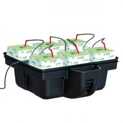 Hydroponic system - HydroStone 6 cubes 60 x 60 x 26.5 cm - Platinium Hydroponics