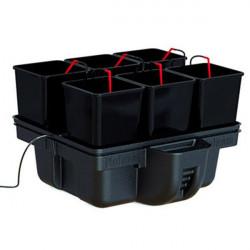 Système hydroponique - HydroStar 60 6 pots 60 x 60 x 39 cm - Platinium Hydroponics