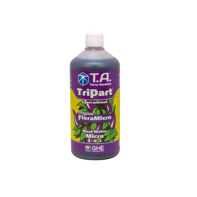 Fertilizers GHE TripartMicro hard water 500ml (Flora Micro)