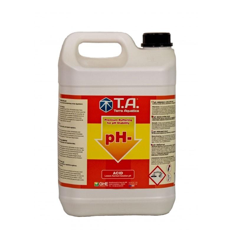 pH regulator - pH down 5L - GHE