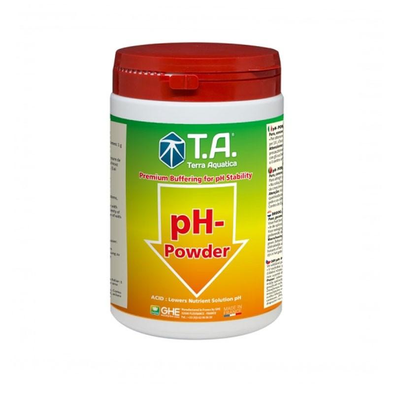 Ph Down Sec 250 g - GHE The powdered ph minus lowers the ph