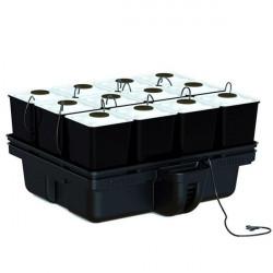 Système aéroponique - AeroStar 80 12 pots 80 x 75 x 39,5 cm - Platinium Aeroponics