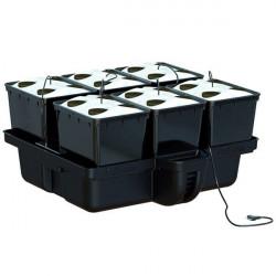 Système aéroponique - AeroPro 80 6 pots 24 sites 80 x 75 x 38,5 cm - Platinium Aeroponics