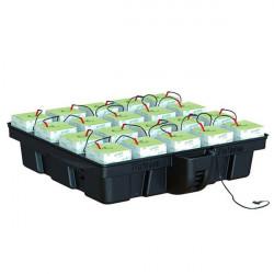 Hydroponic system - HydroStone 20 cubes 1 m2, 100 x 99 x 26.5 cm - Platinium Hydroponics