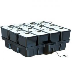 Système aéroponique - AeroPro 1m² 12 pots Mapito 100 x 99 x 38,5 cm - Platinium Aeroponics