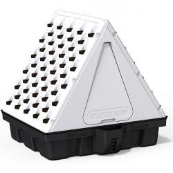 Système aéroponique vertical - Pyramide 100 sites 100 x 99 x 100 cm - Platinium Aeroponics