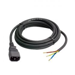 PLUG IEC MALE + 2M DE CABLE 3G1.5