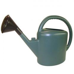 Watering can full oval 11L Dark Green , watering plants in pots