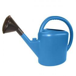 Arrosoir complet ovale 11L Bleu , arrosage des plantes en pots