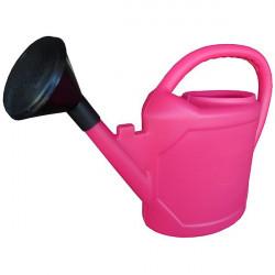 Watering can full oval 6L Fuchsia , watering plants in pots