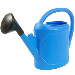 Arrosoir complet ovale 6L Bleu - arrosage des plantes en pots