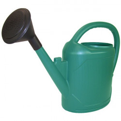 Watering can full Oval 10L Green watering plants in pots