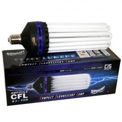 Ampoule CFL Superplant V2 250W Dual/Mixte 2100K+6400K V2 -lampe eco croissance et floraison