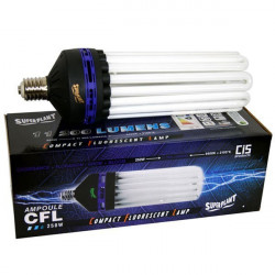Bulb CFL Superplant V2 250W Dual/Mixed-2100K+6400K V2 -lamp eco growth and flowering