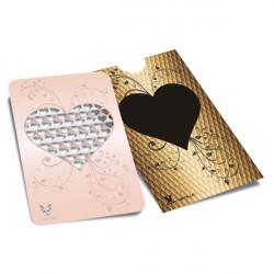 Carte Grinder Cuisine Gold Heart