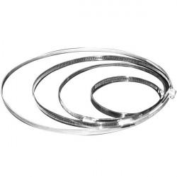 Collier de serrage en aluminium 60-370mm