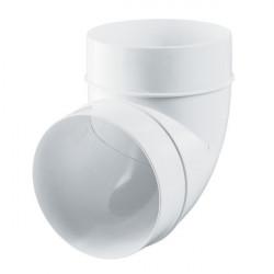 Coude en plastique 90° Winflex 125mm , conduit de ventilation
