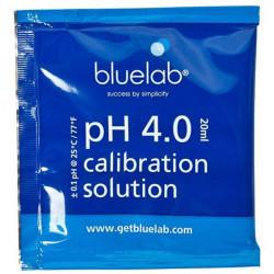 Buffer pH4 BlueLab - Le sachet de 20ml - solution de calibration