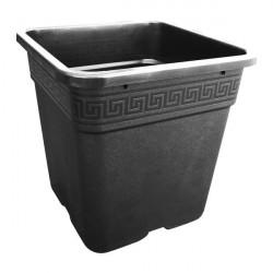 Pot black square 36,5x36,5x36cm - 30L