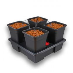 Système hydroponique Nutriculture atami complet Wilma Large 4 - pots 11L