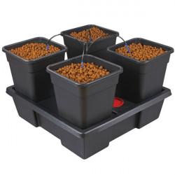 Système hydroponique Nutriculture atami complet Wilma Large 4 - pots 18L