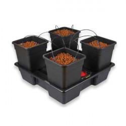Système hydroponique Nutriculture complet Wilma atami XL 4 - pots 25L