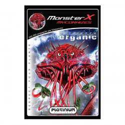 mycorrhizae is a water-soluble Platinium Nutrients Monster X - 10g - 500 propagules/G
