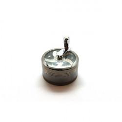 Grinder Cuisine Moulin Aluminium 3 parts Diamètre: 63mm