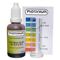 Testeur pH - Test Kit pH - Platinium Instruments alcalinité