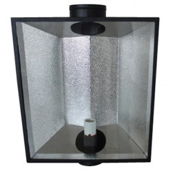 Reflector, Growlite The Hood - 700x570x270mm glass-vented -E40