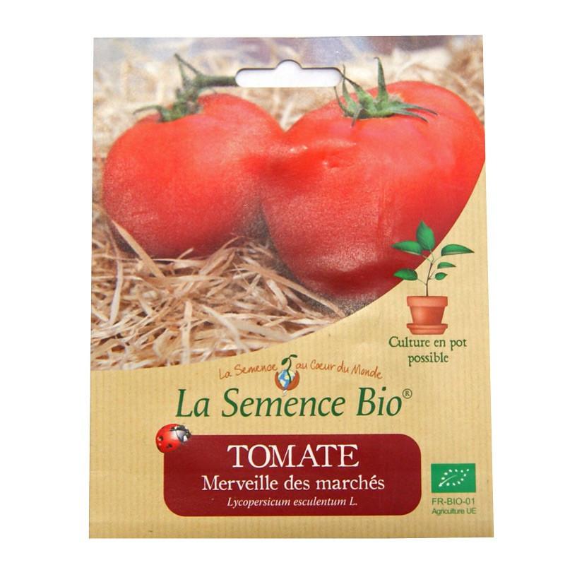 Graines Bio - Tomate Merveille Des Marches