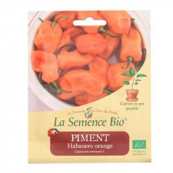 Graines Bio - Piment Habareno Orange