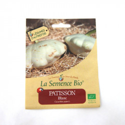 Graines Bio - Patissons Blanc
