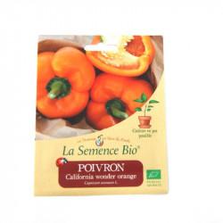 Graines Bio - Poivron California Wonder Orange