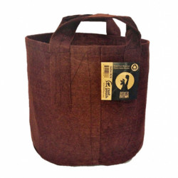 ROOT POUCH 3 12 L BROWN 25.5W X 21.5H AVEC ANSES