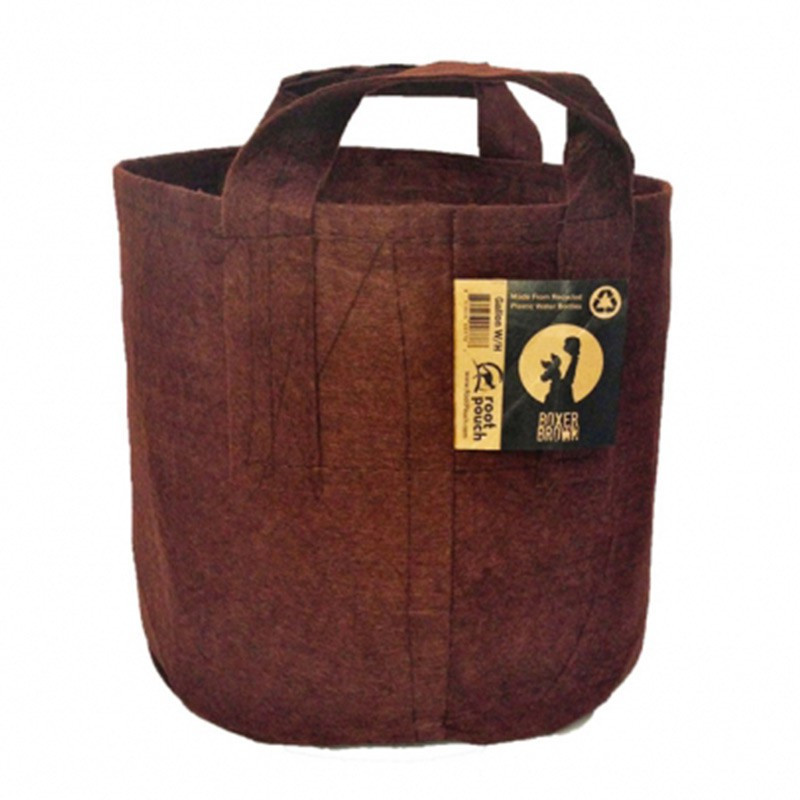 ROOT POUCH 5 16 L BROWN 28W X 26H WITH HANDLES