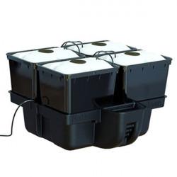 système aéroponique Platinium Aero Pro 60X60 - 4 Pots Bato 11L En Plaque 1 Trou Mj 1000