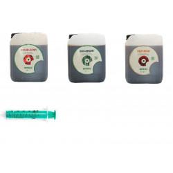 Biobizz Pack fertilizer Start Complete 5 L