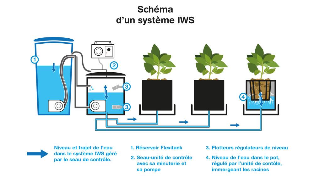Schema d'un systeme IWS